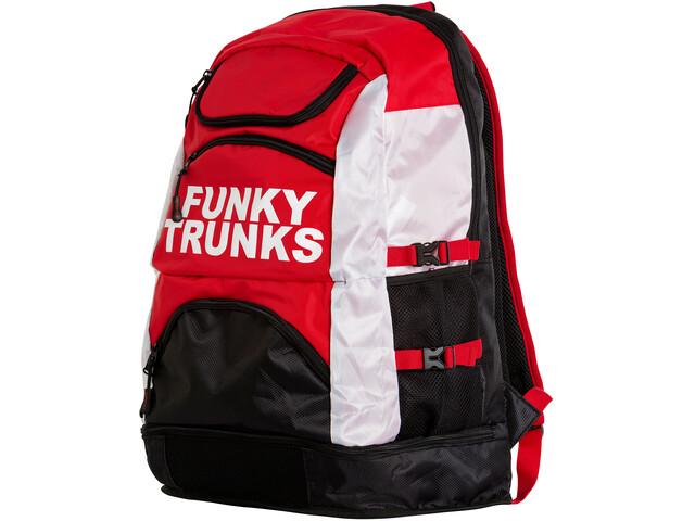 Funky Trunks Elite Squad Svømmerygsæk rød/sort | swim_clothes